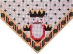ST-610A Nutcracker King Stocking Top Associated Talents