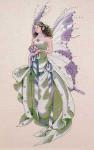 01-1629 MD59 Mirabilia Designs July's Amethyst Fairy