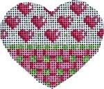 HE-631 Hearts/Trellis Mini Heart Associated Talents