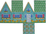 HH-102 Easter Cottage-Green Tile Roof Associated Talents