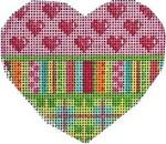 HE-807 Hearts/Stripes/Plaid Heart Associated Talents