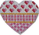 HE-813 Pink Hearts/Plaid/Lattice Heart Associated Talents
