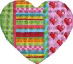 HE-803 Dots/Stripes/Hearts Heart Associated Talents