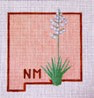 FL107  New Mexico Yucca 7.5 x 7.5 18 Mesh Changing Women Designs