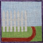 FL105 Picket Fence 6x6  18 Mesh Changing Women Designs