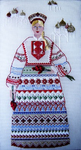 B30cwd Natasha Russian Sampler 10 x 17.5 18 Mesh Changing Women Designs