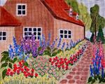 B9 Suffolk Cottage 10x8 18 Mesh Changing Women Designs