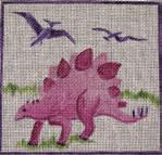 C8 Pink Dinosaur 7 x 7 13 Mesh Changing Women Designs
