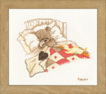 PNV11190Counted Cross Stitch Kit Cuddle up aida  Vervaco