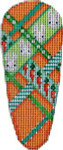 EM-133 Associated Talents Bunny Diagonal Weave Carrot
