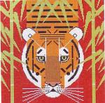 Charley Harper Asian Tiger HC-A185 18 Mesh 12 x 12 Treglown Designs