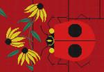 Charley Harper Bug That Bugs Nob HC-B134 18 Mesh 121⁄2 x 9 Treglown Designs