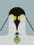 B-R-R-R-R-Rthday Charley Harper HC-B138 18 Mesh 131⁄4 x 18 Treglown Designs