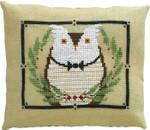 17-2041 ATO-XS16148 MR. OWL'S WINTERGREEN GALA (CS) 75w x 60h by Artful Offerings