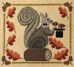 17-2051 Squirrely Acorn Banquet by Artful Offerings