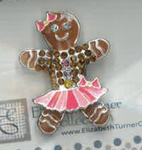 Gingerbread Girl Needle Buddy The Meredith Collection ( Formerly Elizabeth Turner Collection)