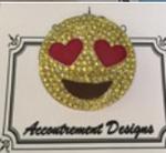 Emoji love Needle Minder MAGNET Limited Edition Accoutrement Designs