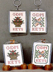 05-2233 Summer's Bounty Key Chains (Includes One Key Chain) by Milady's Needle	$