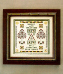 08-1522 Acorns & Apples: Sampler Motifs & Meanings l by Milady's Needle
