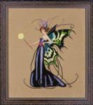 12-2404 MD122 Mirabilia Designs August Peridot Fairy
