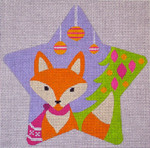 "CH122 Fox Star 5.5"" EyeCandy Needleart"