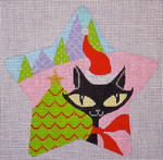 "CH122A Kitty Star 5.5"" EyeCandy Needleart"