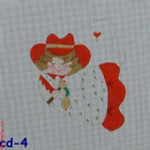 CBK Bettieray Designs CD-04 Cowgirl With Braids