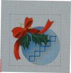 """CBK Bettieray Designs CD-75 Blue Ornament 18 Mesh 4"""""""