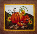 "More The Merrier Designs Fall Harvest Pumpkins Size 29 1/4"" x 32 3/4"""