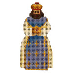 015d Blue magi Mini 2 to 3 Inches 18 Mesh Rebecca Wood Designs
