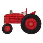 019b Tractor Mini 18 Mesh Rebecca Wood Designs