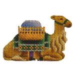 015j Green camel Mini 18 Mesh Rebecca Wood Designs