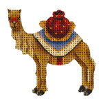 015k Standing camel Mini 18 Mesh 2 to 3 Inches Rebecca Wood Designs