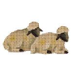 015o Sheep Mini 18 Mesh Rebecca Wood Designs 2 to 3 Inches