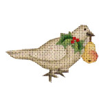 020b Turtle dove Mini 18 Mesh Rebecca Wood Designs