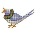 020d Calling bird Mini 18 Mesh Rebecca Wood Designs