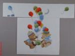 CBK Bettieray Designs CC-05 Bears With Bunnies 18 Mesh Child's Director Chair Seat