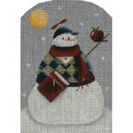 95k Schoolboy snowman 5 x 3.5 18 Mesh Rebecca Wood Designs