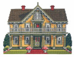 08-2125 Country Victorian Cottage by Nancy Spruance Designs