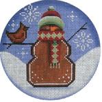 1036h 4 Snowman 18 Mesh Rebecca Wood Designs