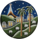 "1034 Bethlehem 4"" 18 Mesh Rebecca Wood Designs"