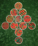 Christmas Ornament Tree 2 180 x 295, Needlepoint Needle Delights Originals