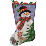 1331e 11/19 Forest Snowman 18 Mesh Rebecca Wood Designs