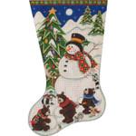399f 11/19 Building a snowman 18 Mesh Rebecca Wood Designs