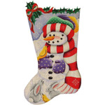 384a 11,19 Woodland snowman 18 Mesh Rebecca Wood Designs