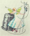 10-2618 Nora Corbett Stitching Fairies-Thimble Fairy
