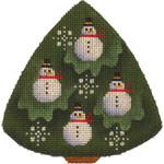 507a 4,4 Snowman tree 18 Mesh Rebecca Wood Designs