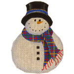 507k 4,4 Black hat snowman 18  Mesh Rebecca Wood Designs