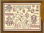 06-1314 Old Sampler (Sampler Antico) by Passione Ricamo