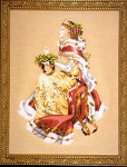 04-2353 MD78 Mirabilia Designs Royal Holiday (Christmas Queen)